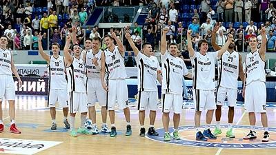 Баскетболисты «Нижнего Новгорода»