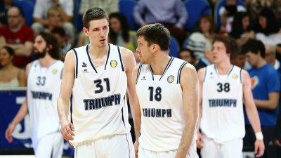 Баскетболисты «Триумфа»