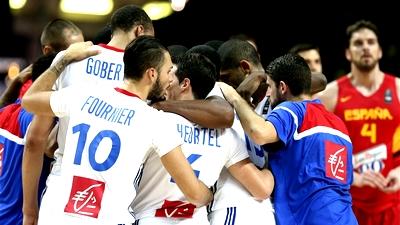 Сборная Франции сенсационно выиграла у Испании