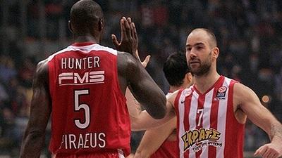 Баскетболисты «Олимпиакоса»