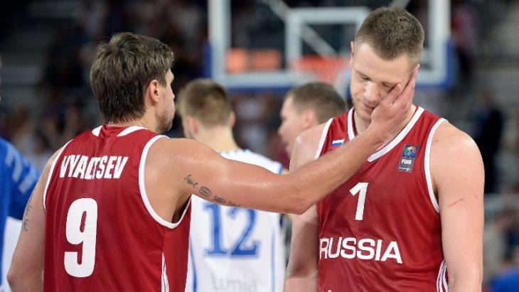 Сборная России до сих пор не выиграла ни одного матча на ЧЕ