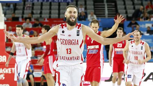 Сборная Грузии пробилась в плей-офф Евробаскета