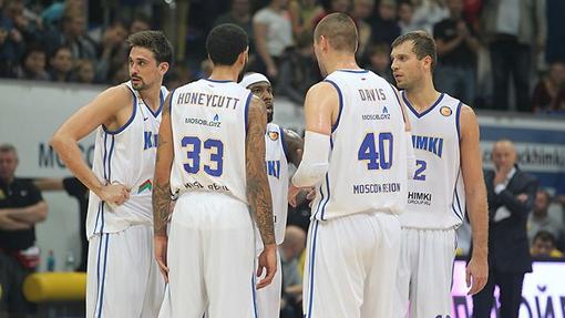 Баскетболисты «Химок»