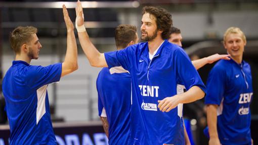 Баскетболисты «Зенита»