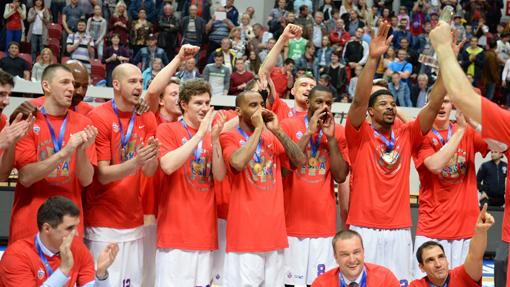 Чемпион Лиги ВТБ-2015/16 ЦСКА