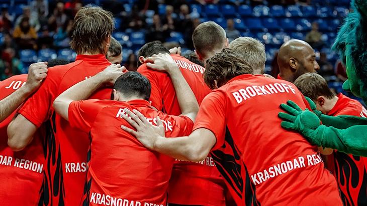 Баскетболисты «Локомотива-Кубани»