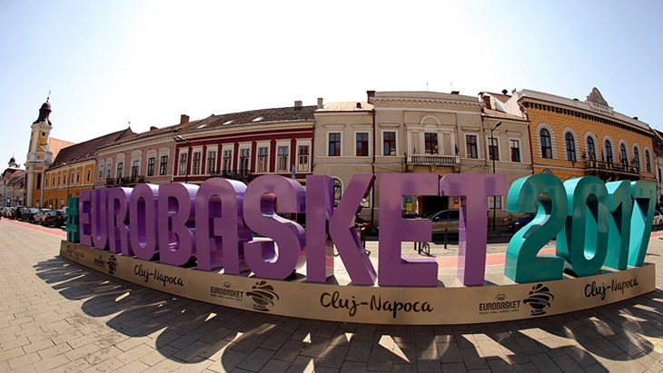 Евробаскет-2017 в городе Клуж-Напока