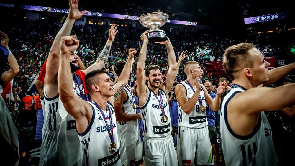 Сборная Словении — чемпион Европы 2017 года
