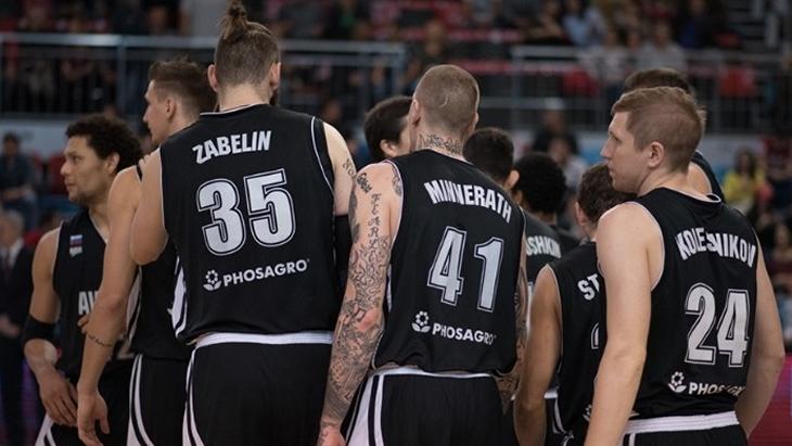 Баскетболисты «Автодора»