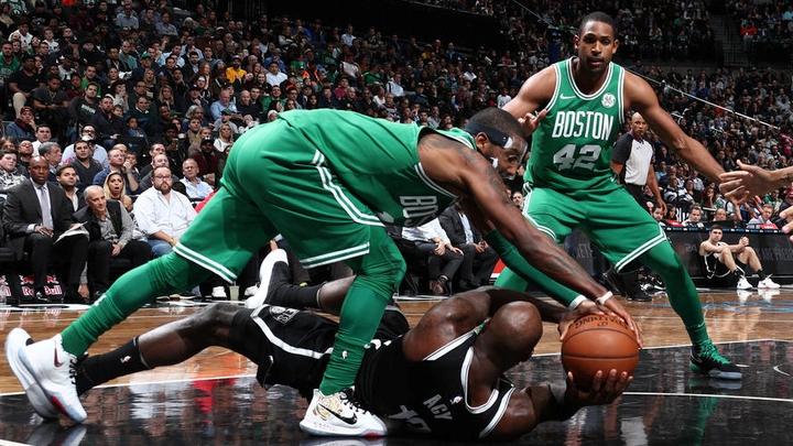 «Бостон» победил на площадке «Бруклина»