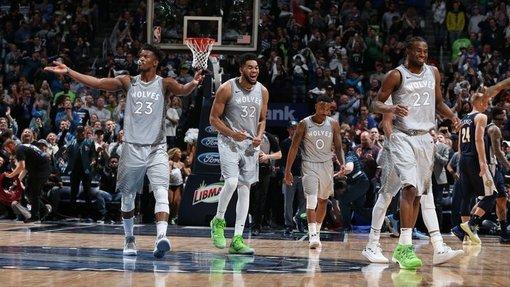 Баскетболисты «Миннесоты»