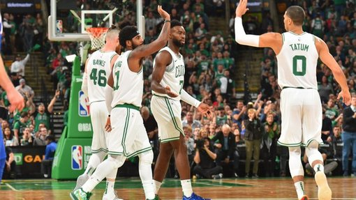 Баскетболисты «Бостона»