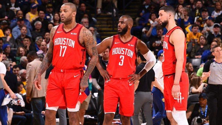 Баскетболисты «Хьюстона»