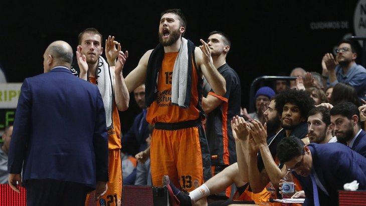Баскетболисты «Валенсии»