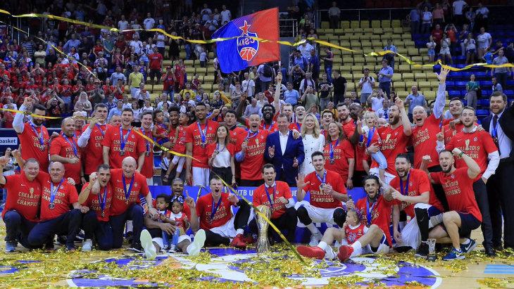 ЦСКА — чемпион Единой Лиги ВТБ 2018-2019