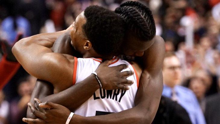 Баскетболисты «Торонто»