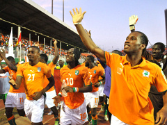В круге втором: Кот д`Ивуар