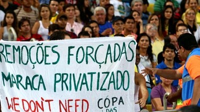 Турнир будет продолжаться, несмотря на массовые акции протеста во многих бразильских городах