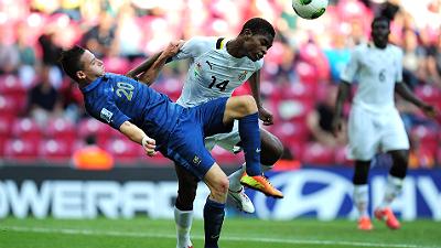 фрагмент матча Франция — Гана