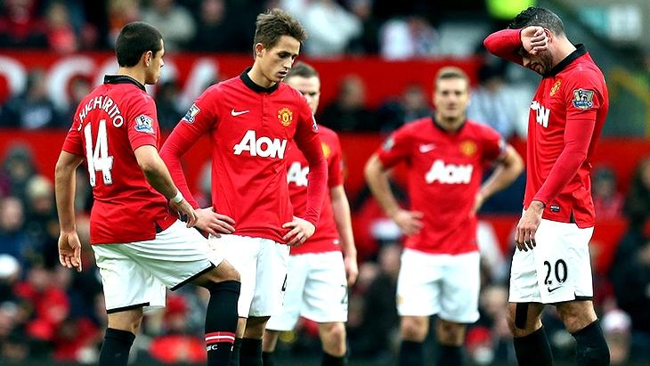 «Манчестер Юнайтед» — девятая команда английской Премьер-лиги после 15-ти туров
