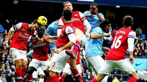 «Манчестер Сити» сыграет с «Арсеналом»