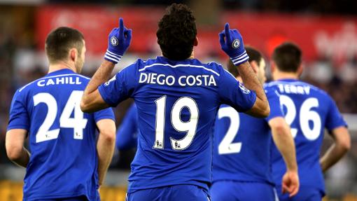 Диего Коста продолжает штамповать голы за «синих»