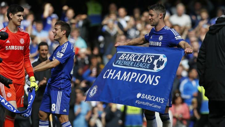 «Челси» празднует чемпионство