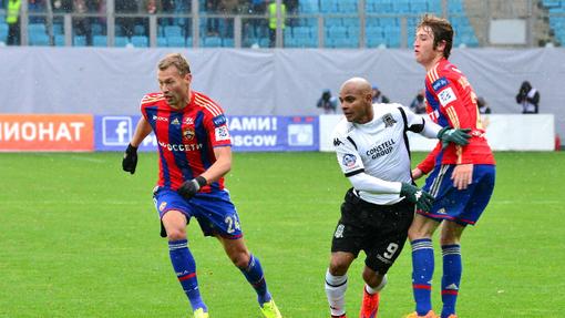 ЦСКА и «Краснодар» продолжают борьбу за место в Лиге чемпионов