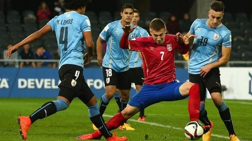 Уругвай обыграл Сербию