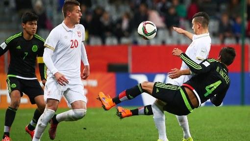 Сербия победила Мексику