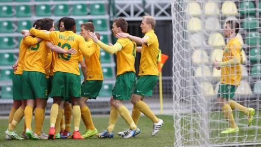 Футболисты «Жилины»
