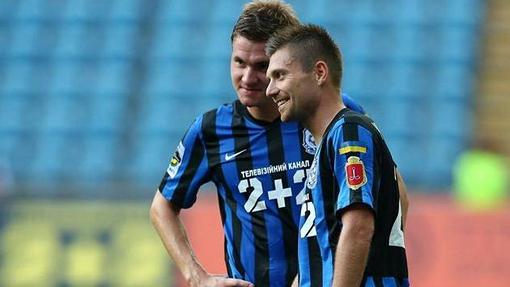 Футболисты «Черноморца»