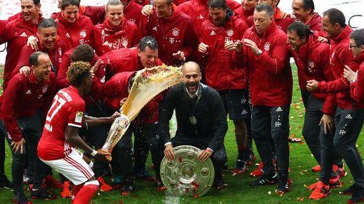 Гвардиола трижды привел «Баварию» к завоеванию чемпионства