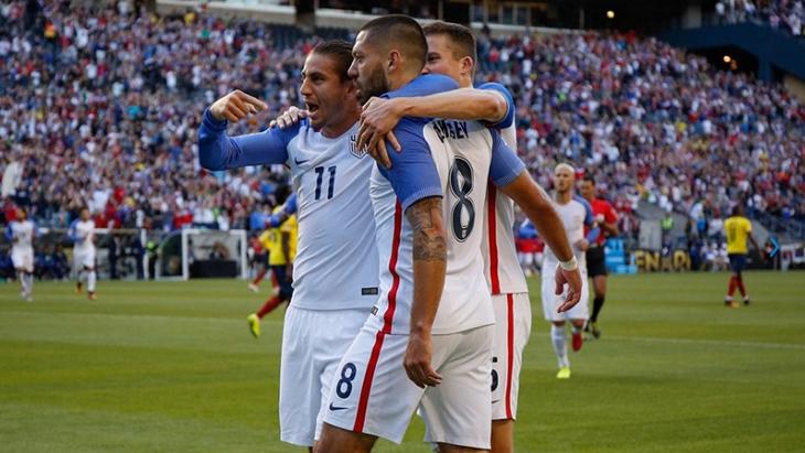 Футболисты сборной США