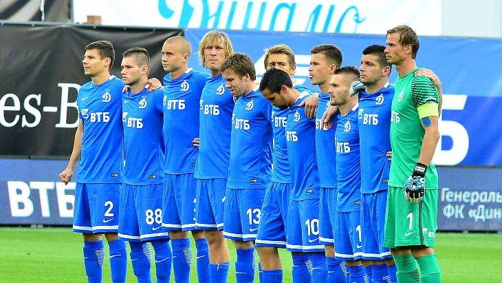 Футболисты «Динамо» перед дебютным матчем в ФНЛ