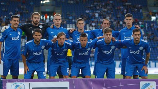 Футболисты «Днепра»