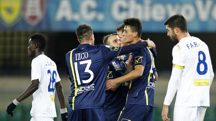 «Кьево» разгромил «Новару» в 1/16 финала Кубка Италии