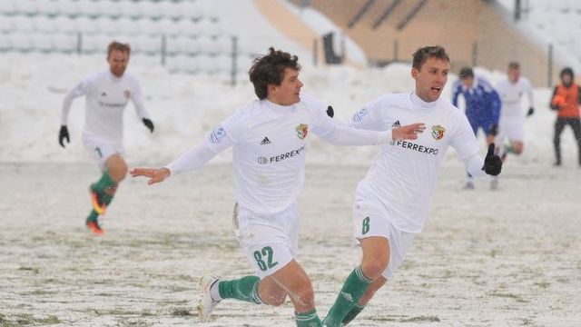 Футболисты «Ворсклы»