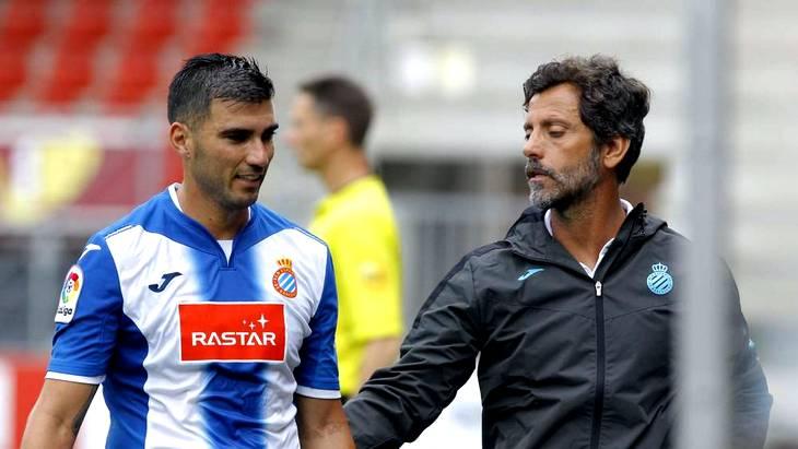 Хосе Антонио Рейес (справа) помог «Эспаньолу» выиграть у «Гранады»