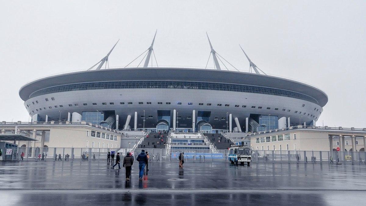 Крестовский стадион фото сейчас