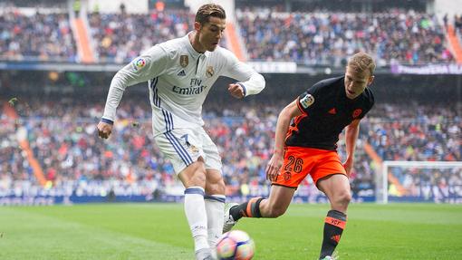 «Реал» вырвал победу в матче с «Валенсией»