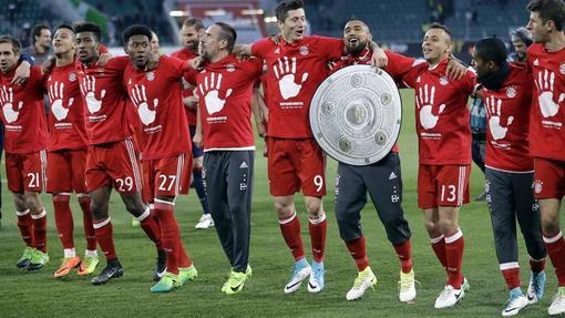 «Бавария» в рекордный пятый раз стала чемпионом Германии