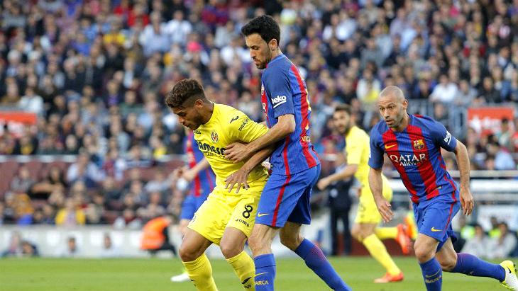 «Барселона» — «Вильярреал»