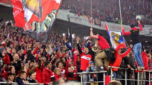Фанаты «Спартака» — самое яркое событие в 30-м туре
