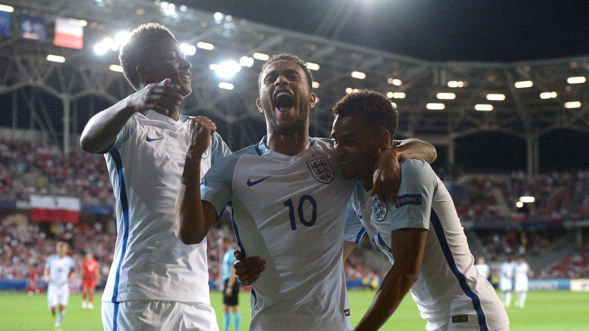 Англия разгромила Польшу на молодежном Евро-2017