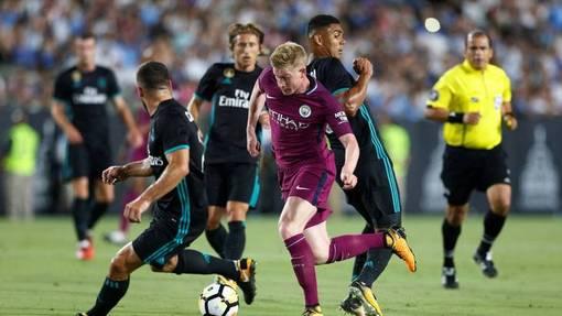 «Реал» без Рамоса и Роналду не смог сдержать «МанСити»