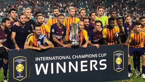 «Барселона» закономерно выиграла турнир