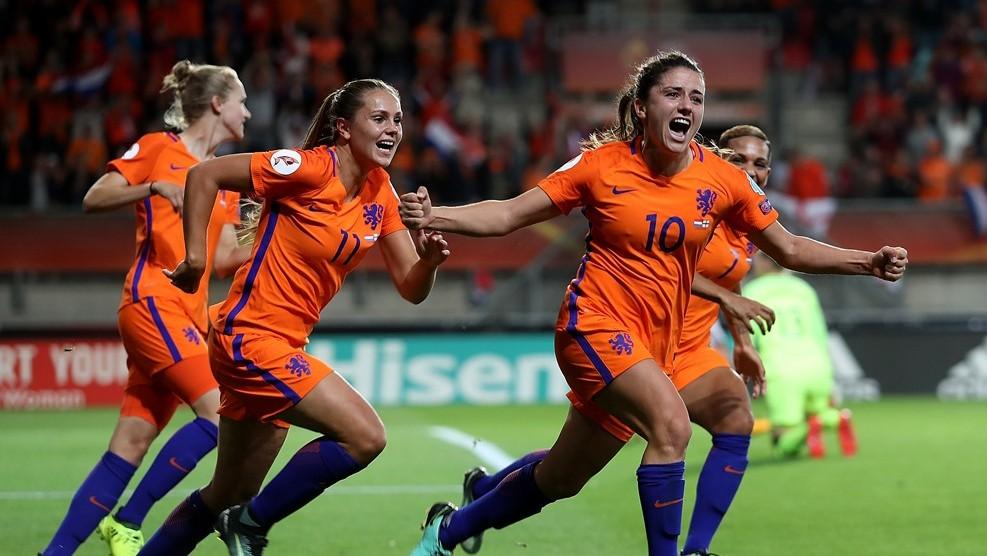 Голландские футболистки — в финале домашнего Евро-2017