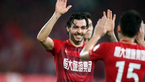 Футболисты «Гуанчжоу Эвергранд»