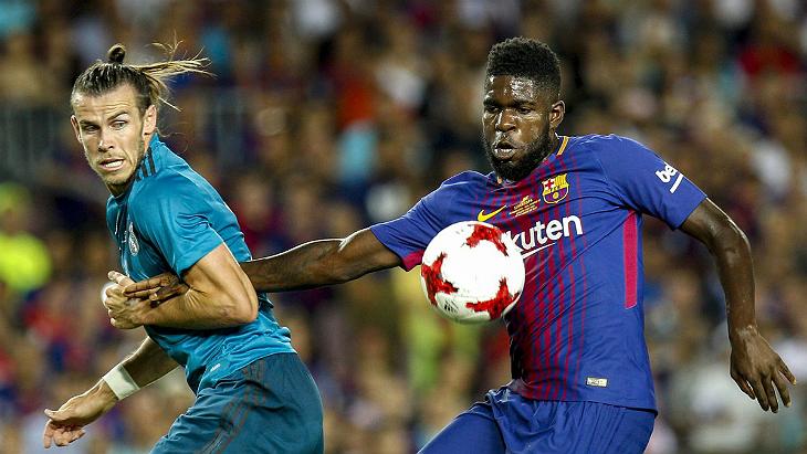 Барселона реал мадрид матч за супер кубок
